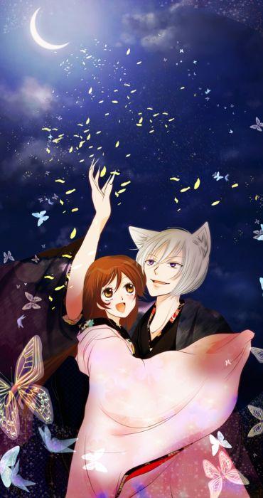anime series kamisama couple love girl guy wallpaper