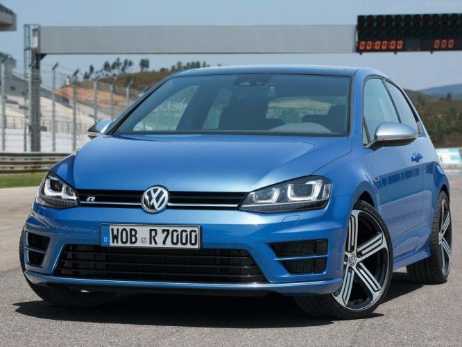 Volkswagen Golf R 2014 wallpaper