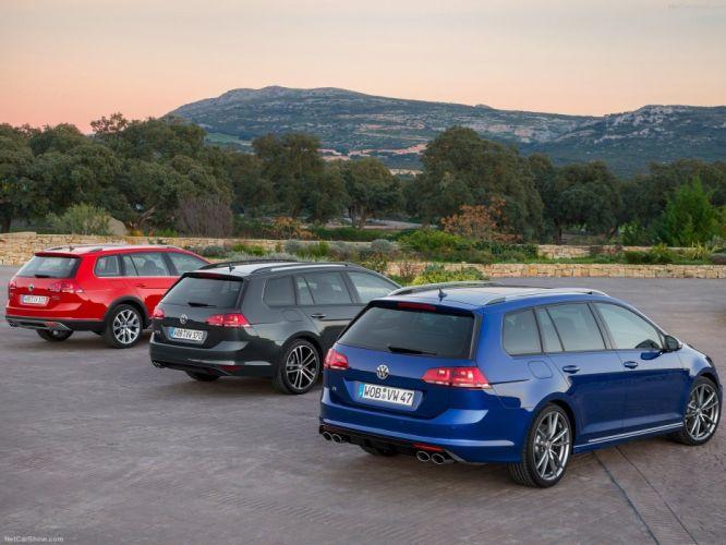 Volkswagen Golf R Variant 2015 (3) wallpaper
