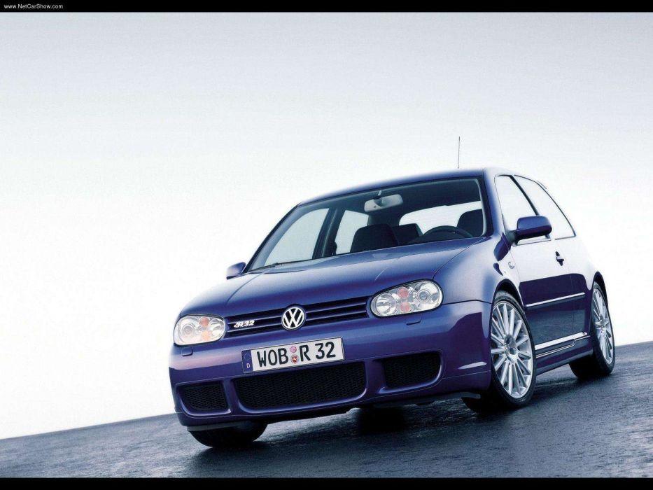Volkswagen Golf R32 2002 wallpaper