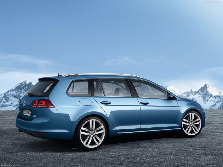 Volkswagen Golf Variant 2014 wallpaper