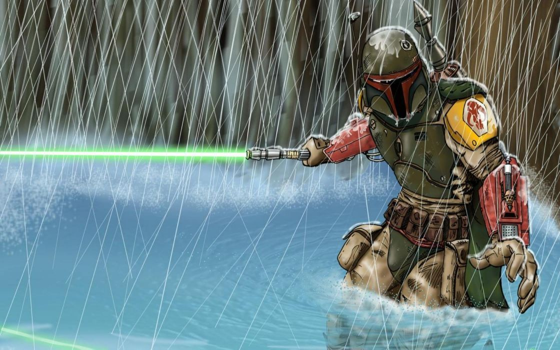 boba fett star wars comic wallpaper