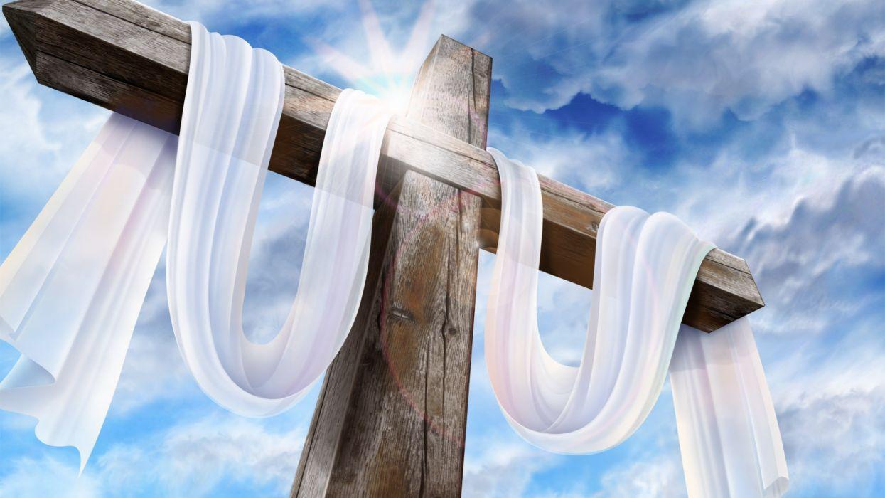 cruz lienzos semana santa pascua wallpaper