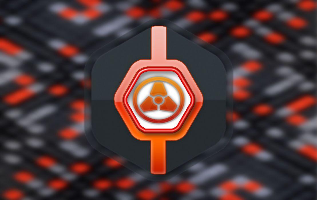 Orange Pop wallpaper