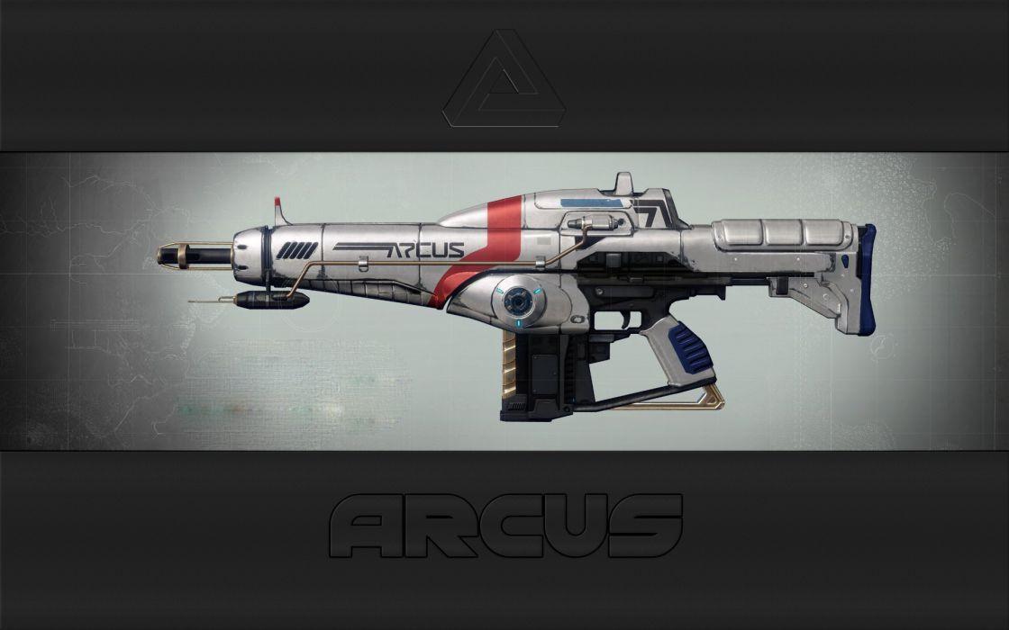 ARCUS Future Battle Rifle wallpaper