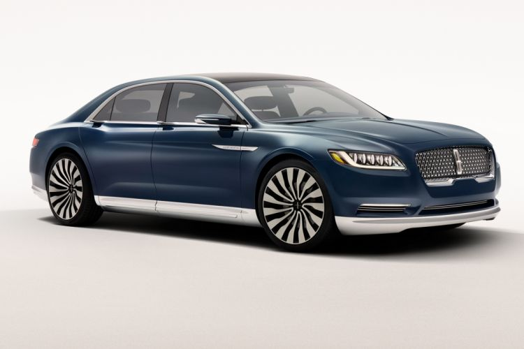 Lincoln Continental Concept 2017-front wallpaper