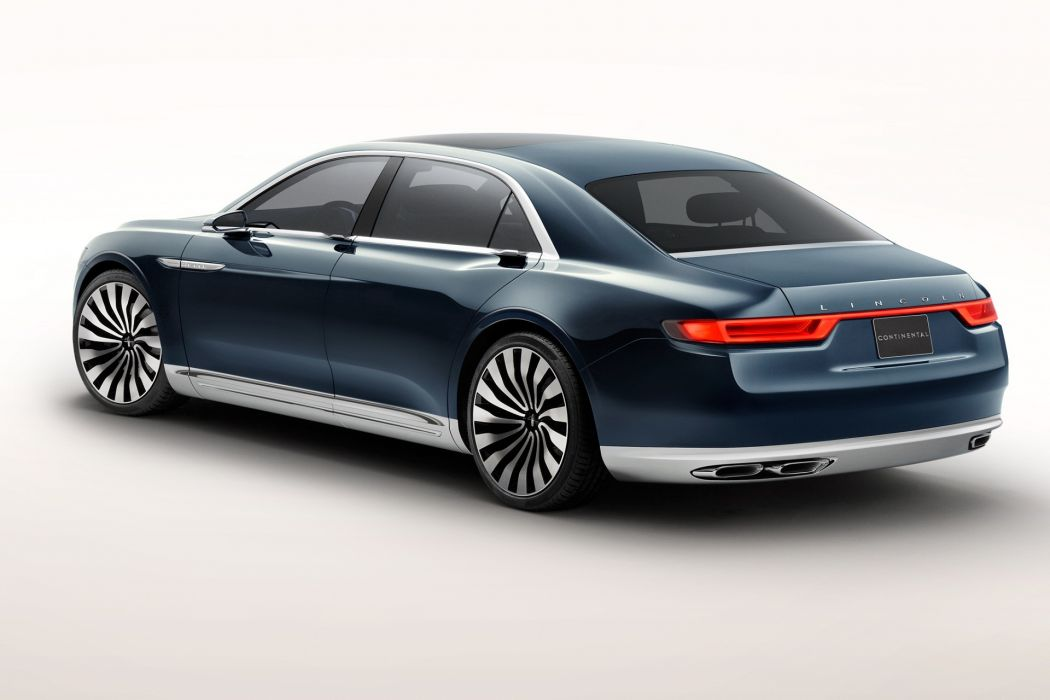 Lincoln Continental Concept 2017-rear wallpaper