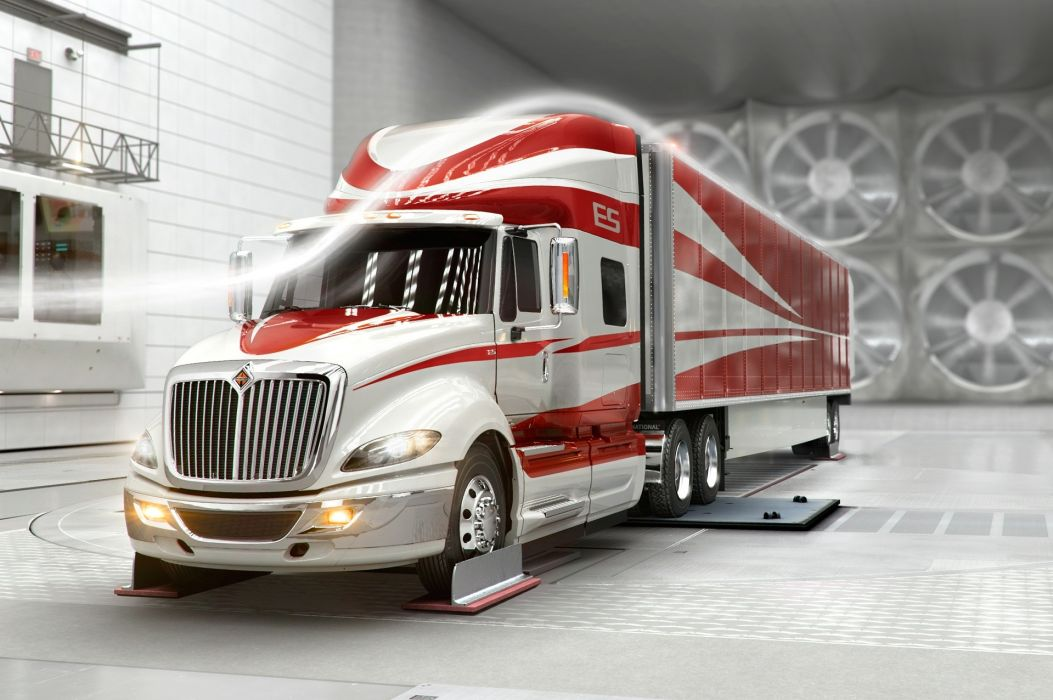 International ProStar ES Wind tunnel wallpaper
