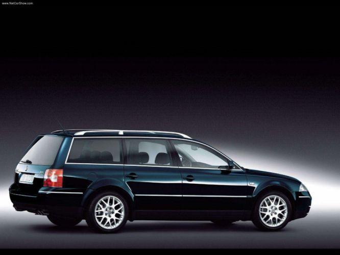 Volkswagen Passat W8 Variant 2001 wallpaper