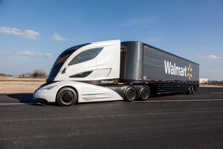 Peterbilt WAVE (Wal-mart Advanced Vehicle Experience) concept 2015 wallpaper