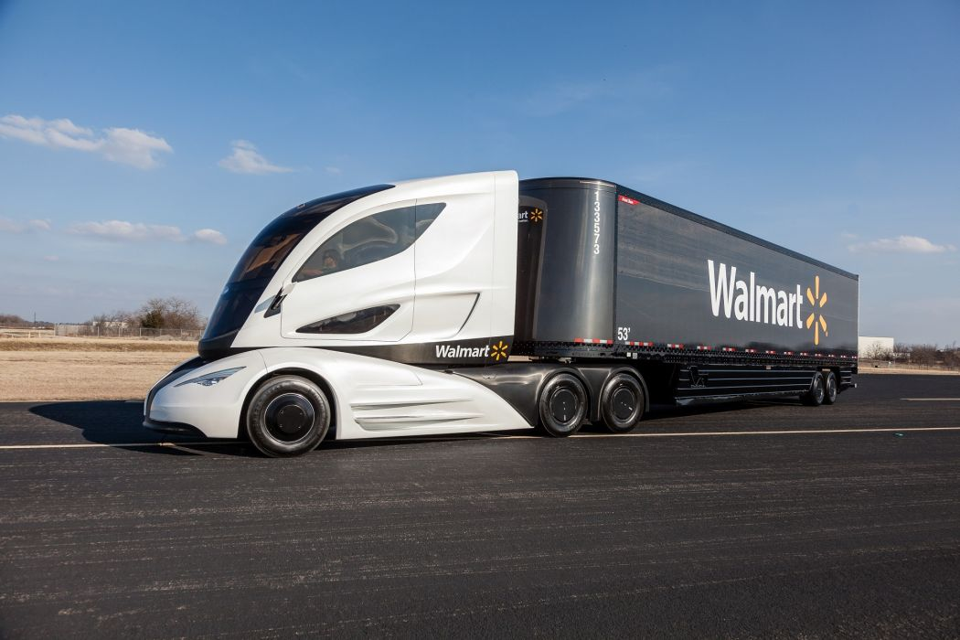 Peterbilt WAVE (Wal-mart Advanced Vehicle Experience) concept 2015 wallpaper