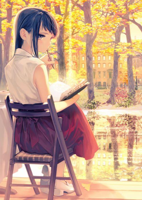 girl original anime girl wallpaper