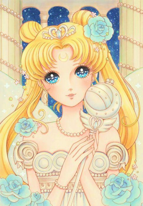 anime series blondegirl beautiful bishoujo senshi sailor moon wallpaper