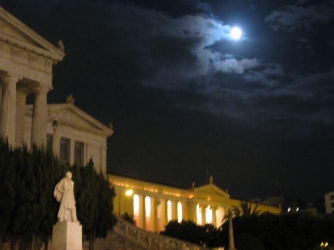 Athens Univercity wallpaper