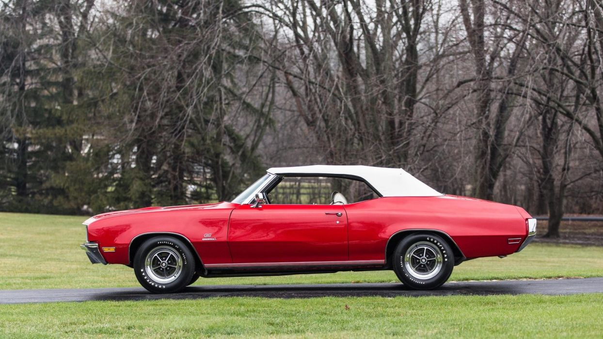 1970 BUICK (GS) STAGE-1 CONVERTIBLE cars red wallpaper