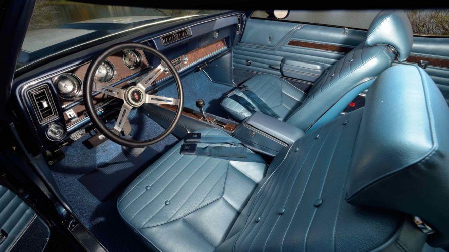 1970 OLDSMOBILE 442 W-30 cars blue wallpaper