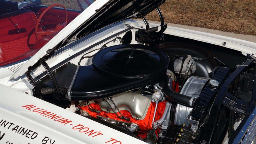 1963 CHEVROLET IMPALA Z11 427 cars white wallpaper