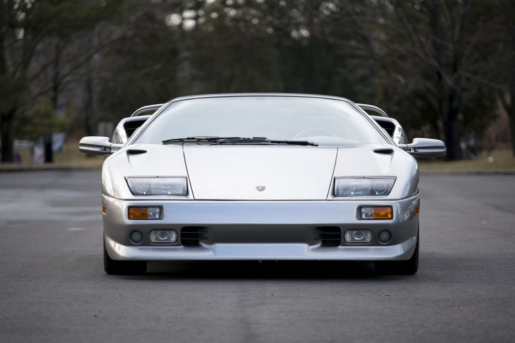 Lamborghini Diablo (VT ) Roadster cars supercars silver 1999 wallpaper