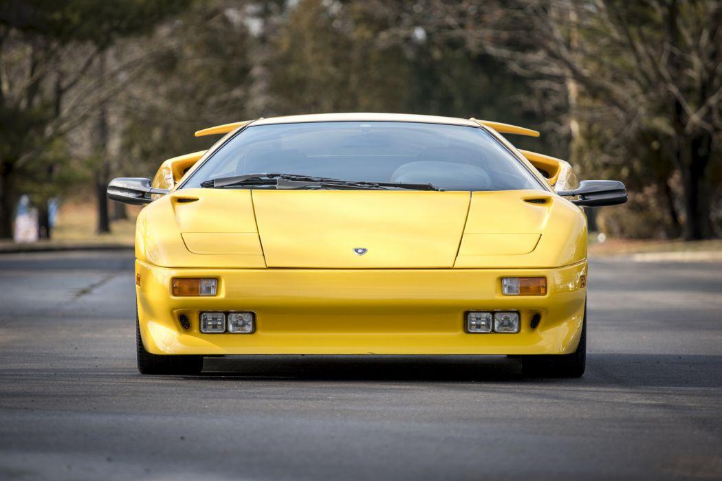 Lamborghini Diablo Cars Supercars Yellow 1990 Wallpaper 3871x2582 1078398 Wallpaperup