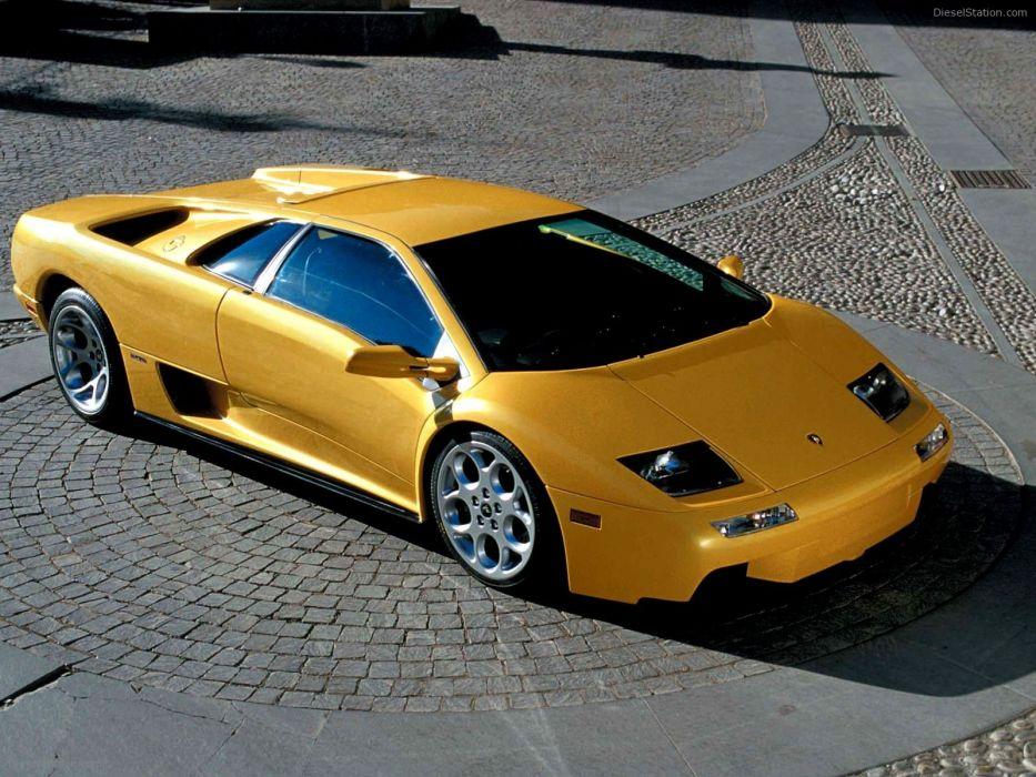 2001 Lamborghini Diablo 6 0 VT-1 wallpaper