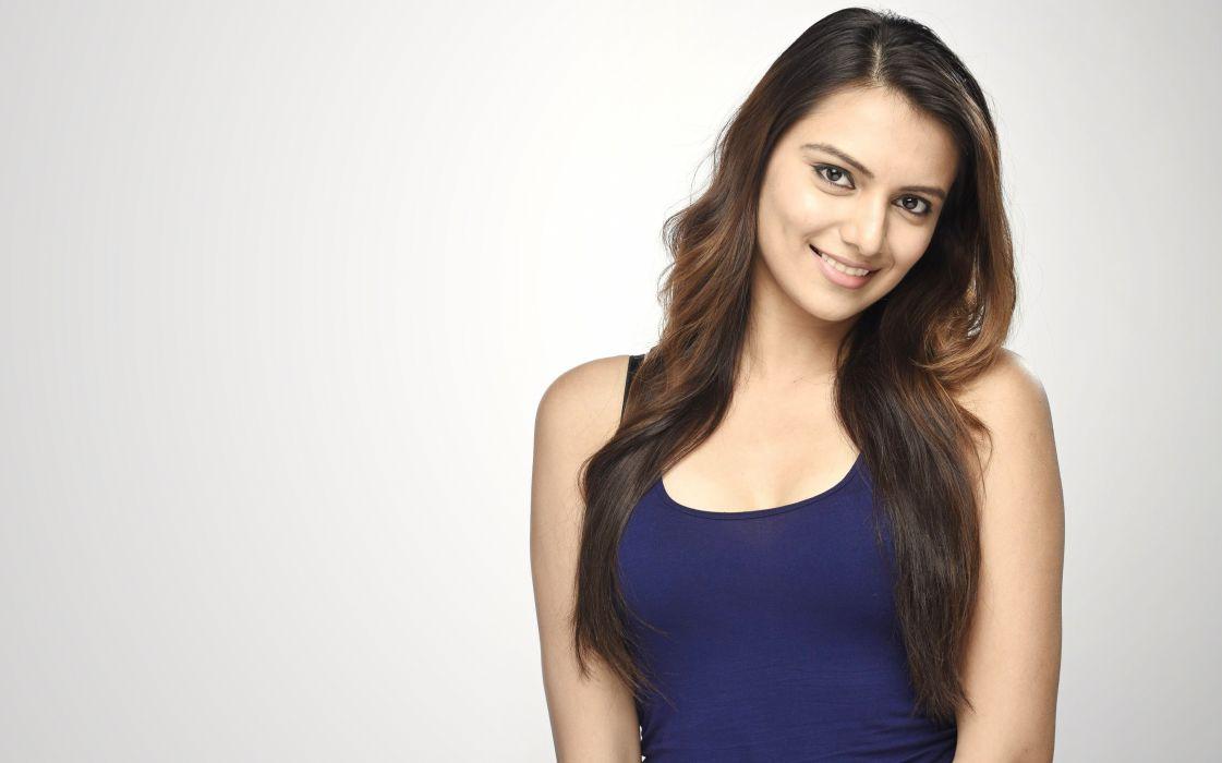 lekha prajapati bollywood actress model girl beautiful brunette pretty cute beauty sexy hot pose face eyes hair lips smile figure indian wallpaper