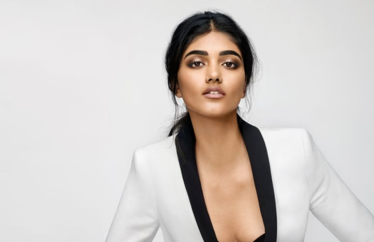 neelam gill bollywood actress model girl beautiful brunette pretty cute beauty sexy hot pose face eyes hair lips smile figure indian wallpaper
