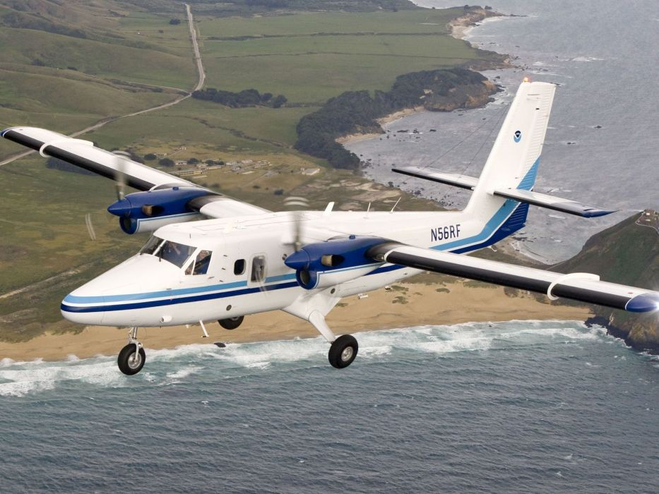 avioneta vuelo playa mar wallpaper