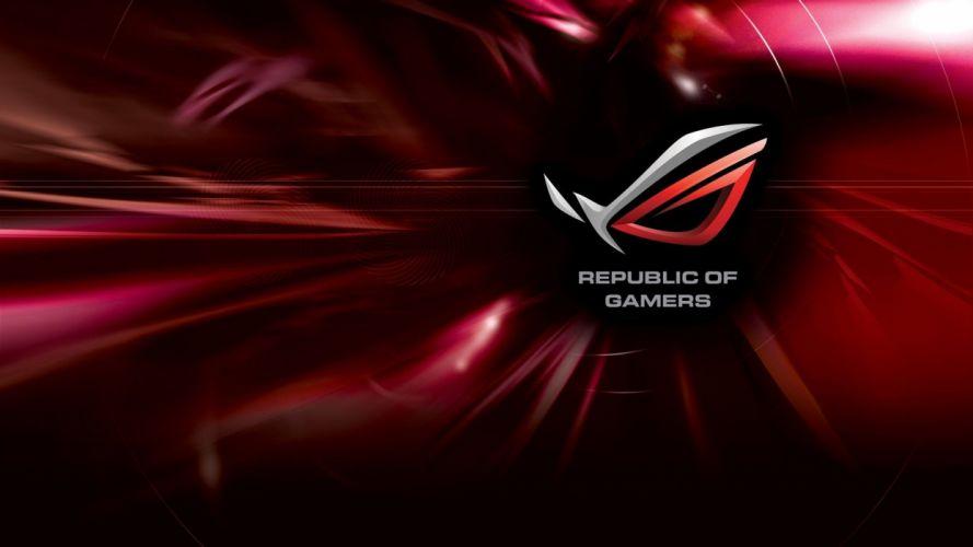 republic of gamer asus rog wallpaper wallpaper