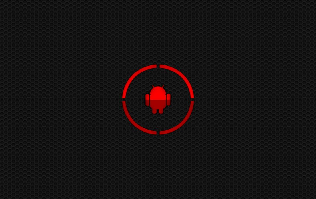 Android Red wallpaper