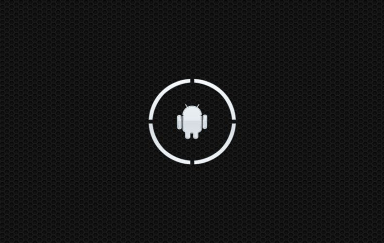 Android White wallpaper