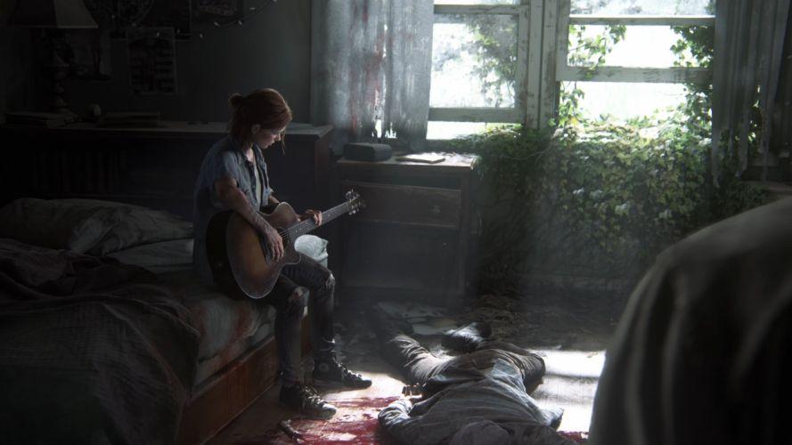 The Last Of Us 2 Ellie Guitar Sunlight wallpaper