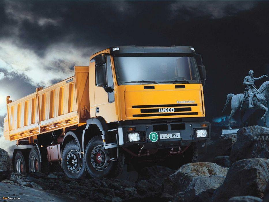 iveco eurotrakker camion wallpaper