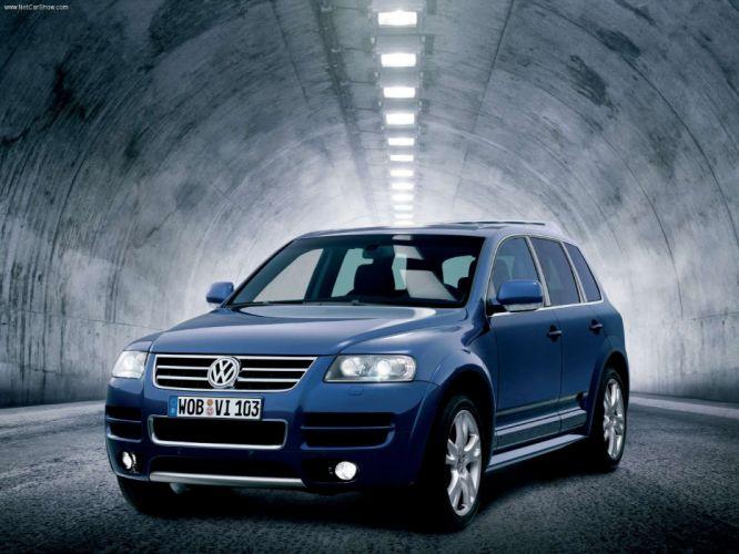 Volkswagen Touareg W12 Sport 2004 wallpaper