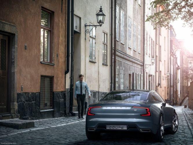 Volvo Coupe Concept 2013 wallpaper