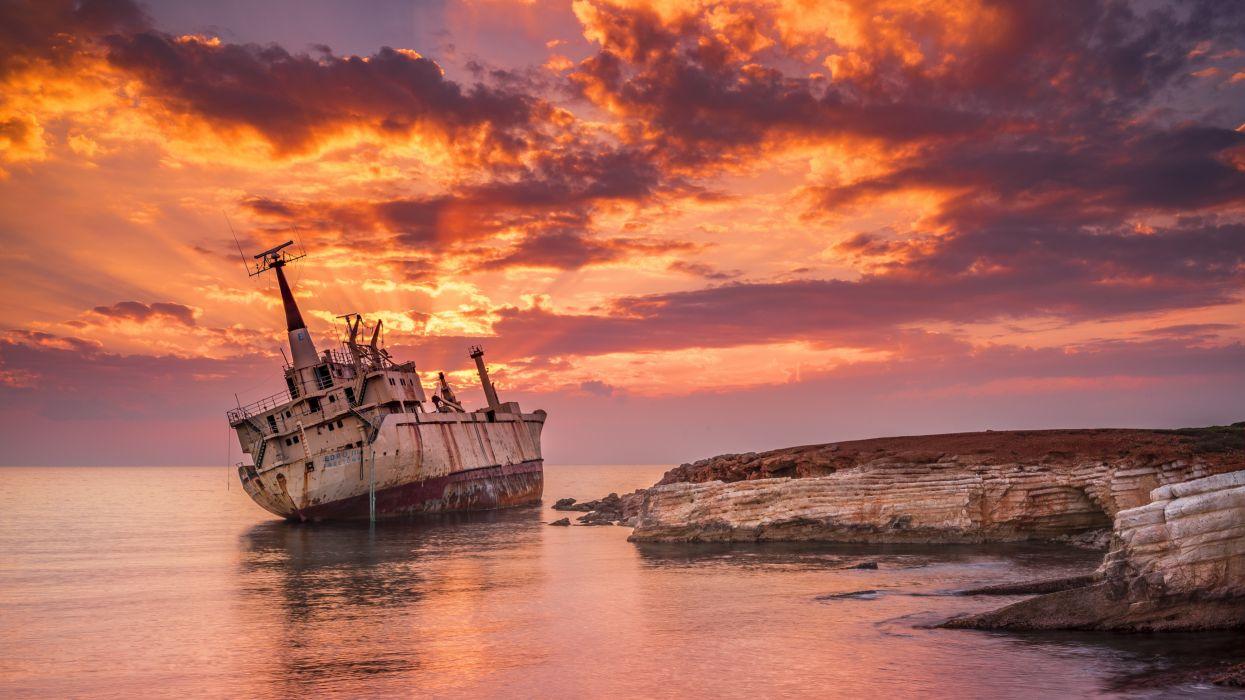 04105 shipwrecked 3840x2160 wallpaper