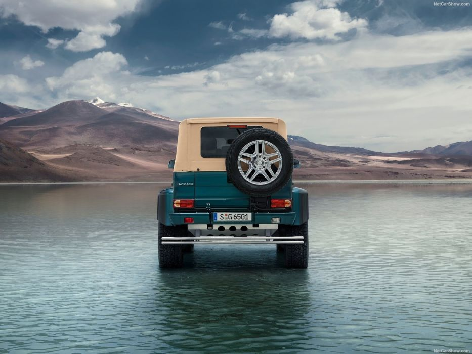 Mercedes Benz G650 Maybach Landaulet cars suv 2017 wallpaper