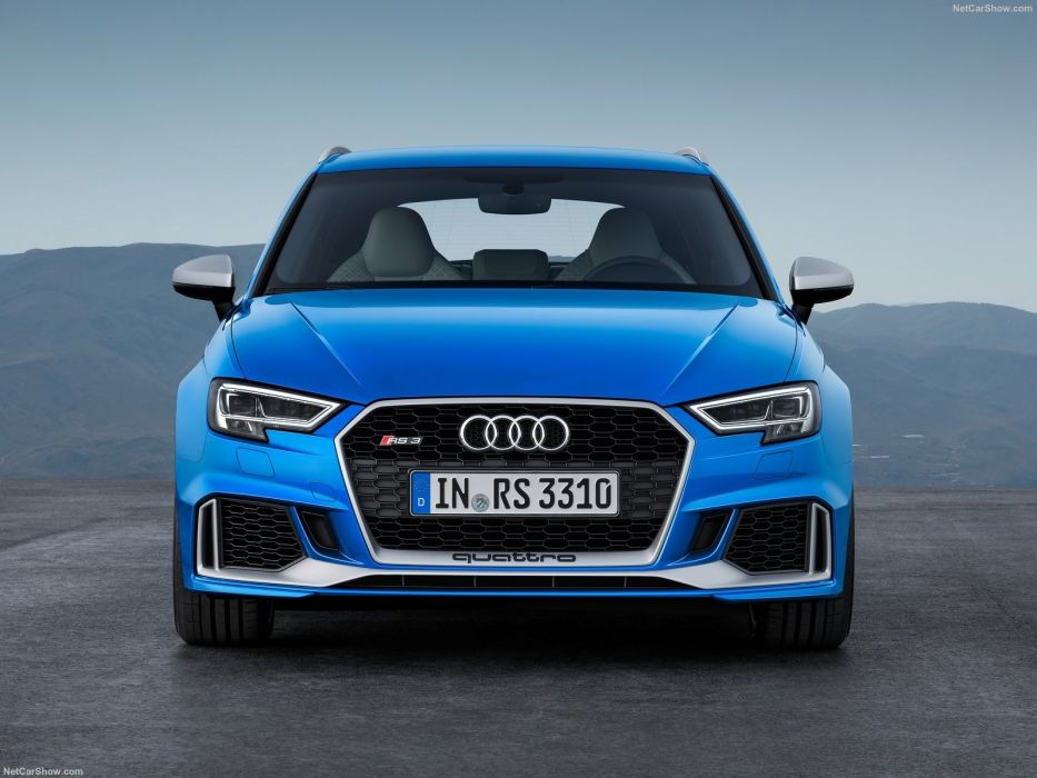 Audi RS3 Sportback cars blue 2017 wallpaper