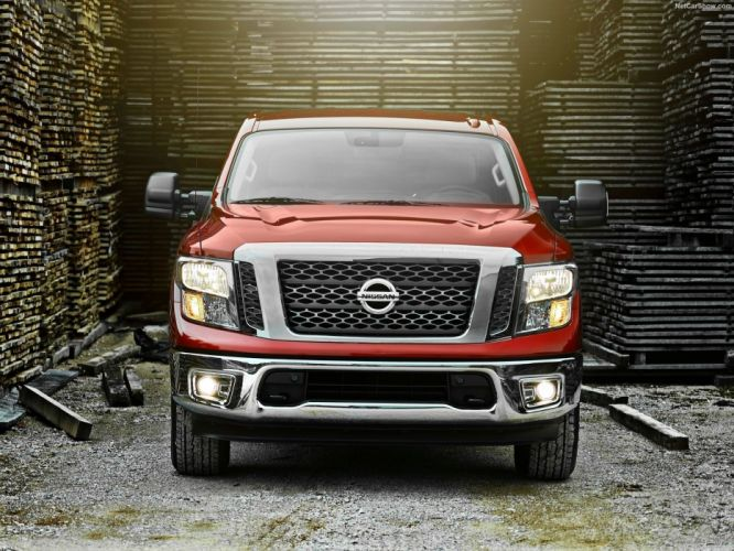 2017 Nissan Titan King Cab truck pickup 4x4 wallpaper