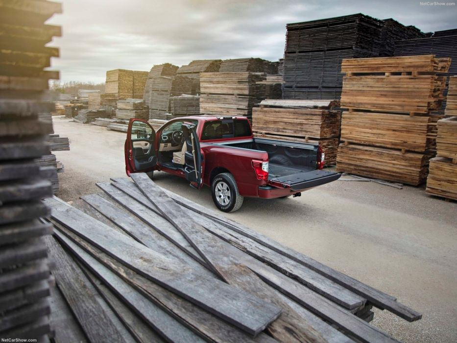 2017 Nissan Titan King Cab truck pickup 4x4 wallpaper