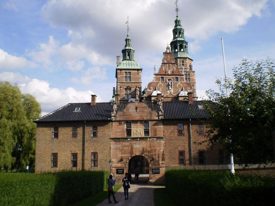 palacio Copenhague arquitectura dinamarca wallpaper