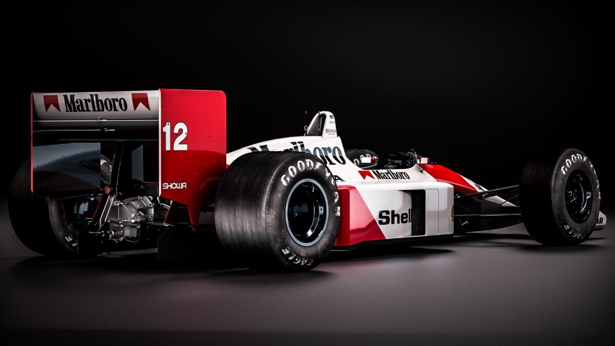 Mclaren-Honda MP4-4 Classic Formula One wallpaper