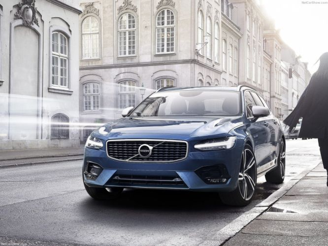Volvo V90 R-Design 2017 Station Wagon wallpaper