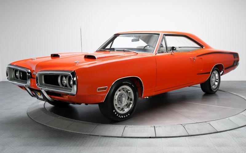 1970 Dodge Coronet SuperBee Orange wallpaper