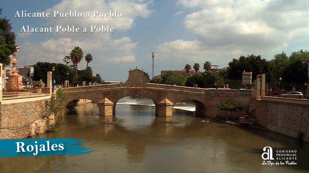 rio segura puente rojales espay wallpaper