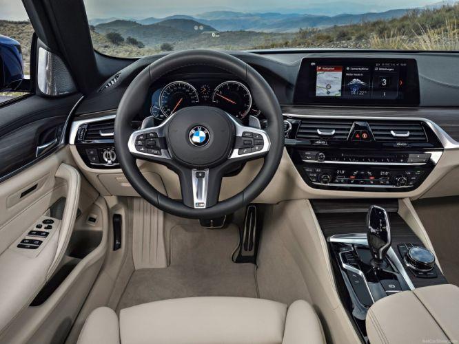 BMW 5 Series Touring G31 2018 wallpaper