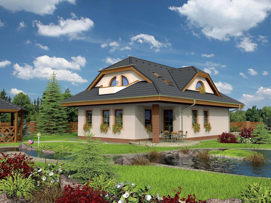 casa arquitectura jardin wallpaper