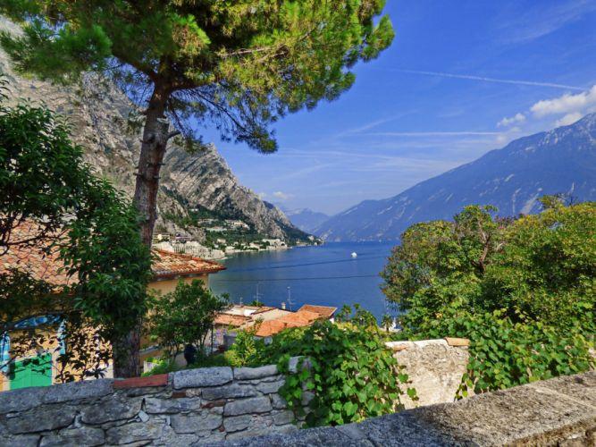 Limone Sul Garda Italy wallpaper