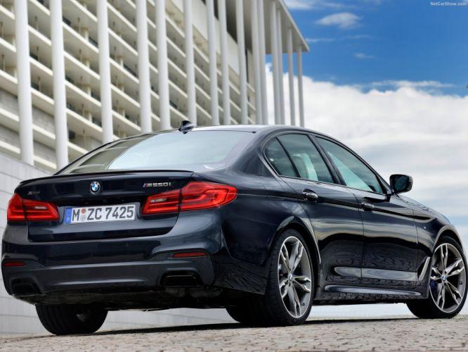 BMW M550i xDrive G30 2018 wallpaper