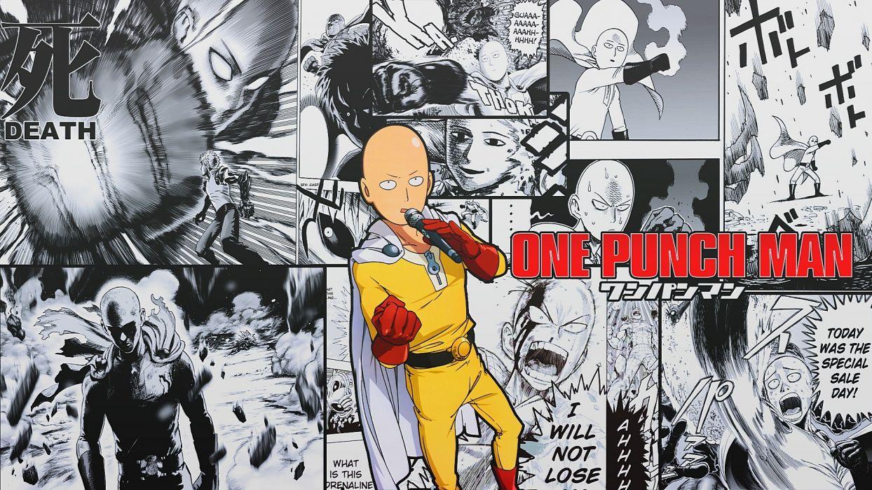 Saitama One Punch Man Anime wallpaper