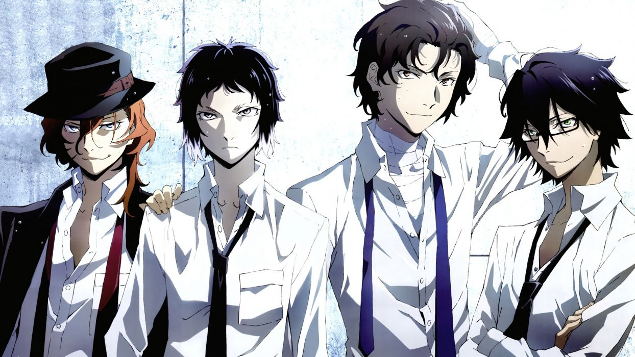 Bungo Stray Dogs Anime Characters wallpaper
